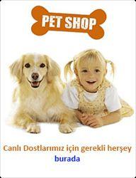 Pet shop ürünleri