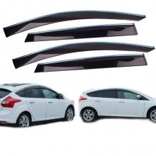 Ford Focus Hb Cam Rüzgarlığı Kromlu Mugen Tip 6 Parça