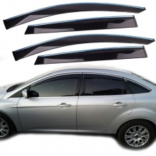 Ford Focus Sedan Cam Rüzgarlığı Kromlu Mugen Tip 6 Parça