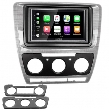 Grundig Skoda Octavia Analog Klima CarPlay AndroidAuto Multimedya Sistemi