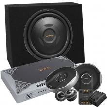infinity 1000 Watt Ses Sistemi Seti Bass + Amfi + Mid Hoparlör + Kablo Seti