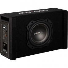 Kenwood PA-W801B Amfili 400 Watt 20 cm Oto Aktif Subwoofer Bass