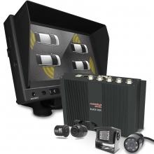 Okul ve Servis Taşıtları İçin 1 TB Kayıtlı DVR seti 4 Kamera + Monitör Seti