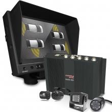 Okul ve Servis Taşıtları İçin 500 GB Kayıtlı DVR seti 4 Kamera + Monitör Seti