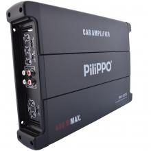 Pilippo PO-1075 4 Kanal 440 Watt Oto Anfi Amplifikatör