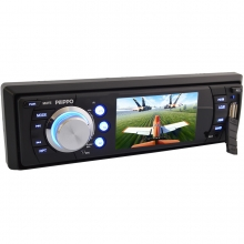 Pilippo PO-725 3 inç Ekranlı DVD USB TV Oto teyp