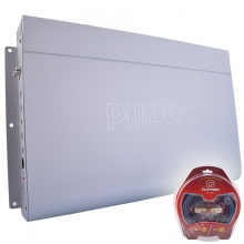 Pilippo PO-980 Mono 3000 WATT Oto Bas Anfisi + Kablo Seti