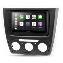 Pioneer Skoda Yeti Manuel Klima Apple CarPlay Android Auto Multimedya Sistemi