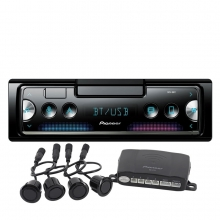 Pioneer SPH-C10BT + Park Sensörü USB MP3 Bluetooth Oto Teyp iPhone ve Android Cihazlara bağlanır