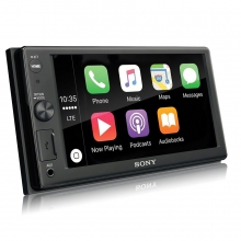 Sony XAV-AX1000 CarPlay Double Multimedya Oto Teyp Bluetooth USB