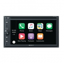 Sony XAV-AX200 Multimedya CarPlay Android Auto Double Oto Teyp DVD li