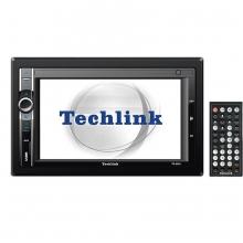 Techlink TE-6300 Navigasyonlu USB SD Double Teyp